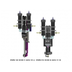 TAEHA双液螺杆阀(AB胶螺杆泵)